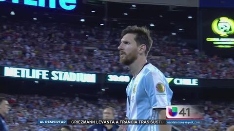 Messi renuncia tras perder la cuarta final con Argentina