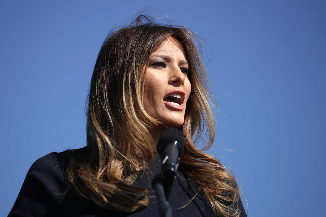 Melania Trump, una primera dama inesperada GettyImages-621226282.jpg