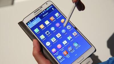 Galaxy Note 3 es el smartphone más potente en la actualidad.