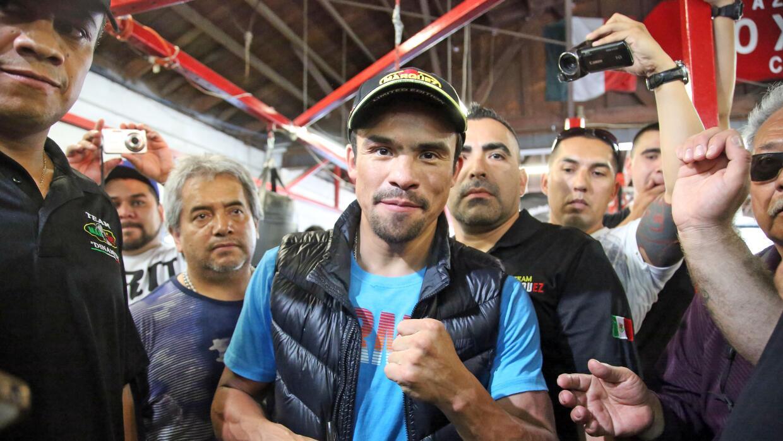 Márquez seguirá sin pelear.