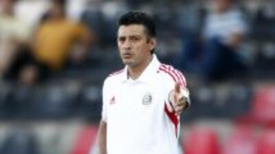 Sergio Almaguer, técnico de la selección mexicana Sub 20.