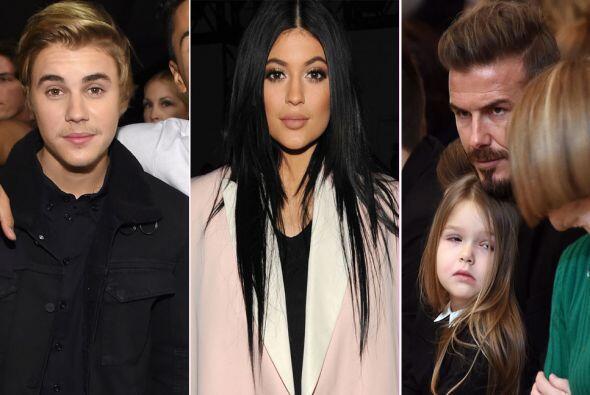 Justin Bieber, el clan Jenner-Kardashian y la dinastía Beckham, son sólo...