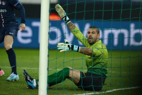 Pese a las protestas el gol subió al marcador.