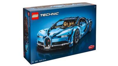 Ya puedes tener tu Bugatti Chiron, aunque sea a escala