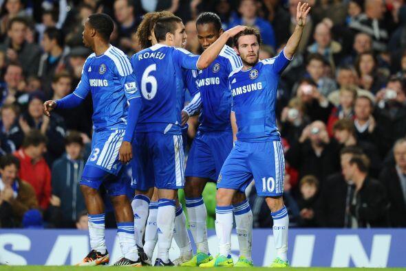 Chelsea festejó ante su gente y se ubica quinto en la tabla.