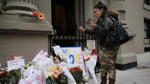 Los asesinatos estremecieron a la ciudad de Nueva York y decenas de pers...