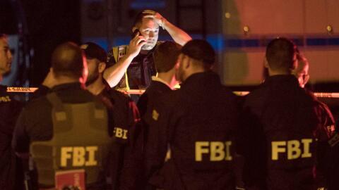 Investigadores continuaban recabando evidencia en el suroeste de Austin,...