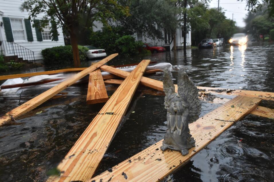 Históricas inundaciones en Carolina del Sur
