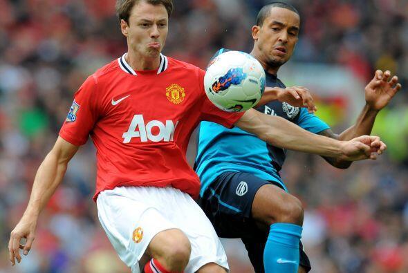 El dominio seguía siendo del United, aunte un Arsenal desmotivado.