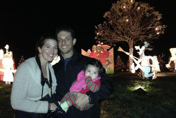Y Regina Rodríguez nos envió esta emotiva imagen con su preciosa bebita...