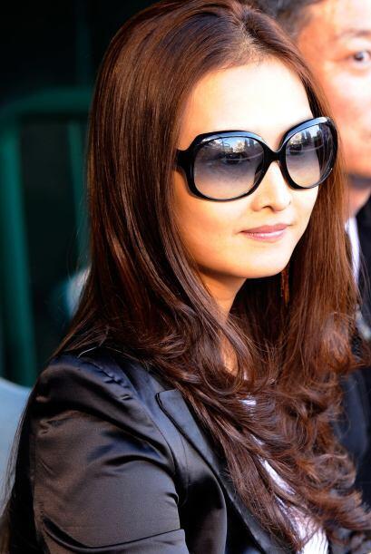 Won Mi Ha es la linda esposa del jardinero derecho de los Indios de Clev...