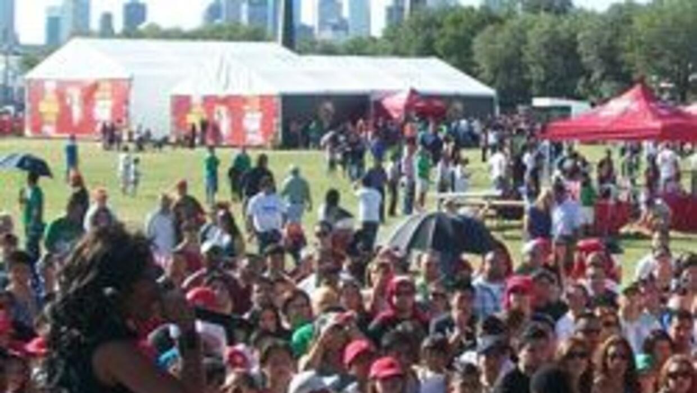 Copa del Mundo visito la Universidad de Houston. 4769f485cc3e4a45b03e5c7...