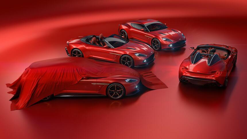 Conoce los nuevos Aston Martin Vanquish Zagato Volante y Speedster vanqu...