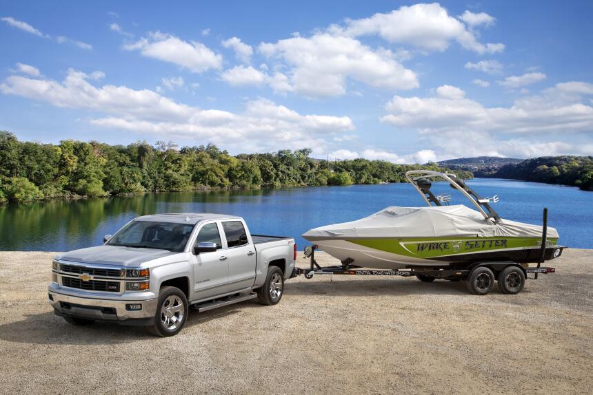 Las 10 camionetas pickups más vendidas de 2015 2015-Chevrolet-Silverado-...