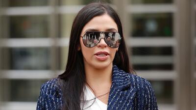Por primera vez, la esposa de 'El Chapo' Guzmán habla con la prensa tras su visita a la cárcel