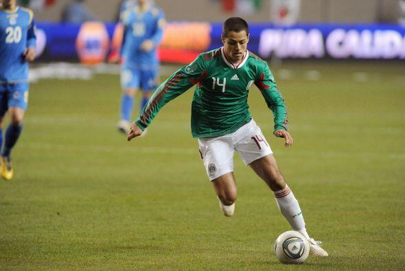 Javier 'Chicharito' Hernández era el jugador más esperado...