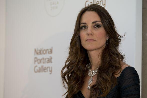Fue en el ''The Portrait Gala'' en Londres, donde la duquesa de Cambridg...