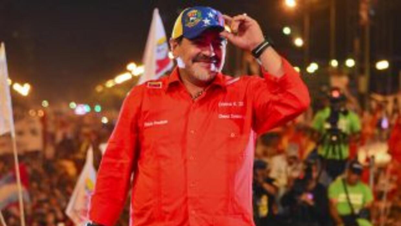 Maradona no podrá entrar en Estados Unidos.