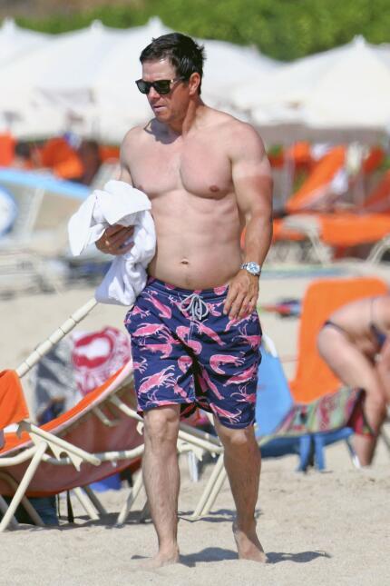 El actor disfruta de sus vacaciones en Maui con su familia.