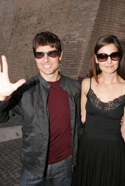 Holmes y Cruise se casaron en el castillo Odescalchi en Bracciano, Itali...