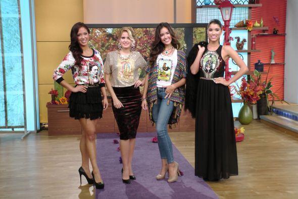 En la sección de moda, la diseñadora mexicana Vero Solís nos presentó un...