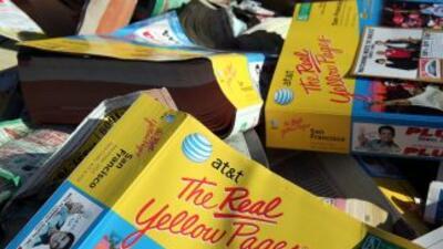 Yellow Pagesn se distribuye en 22 estados de Estados Unidos.