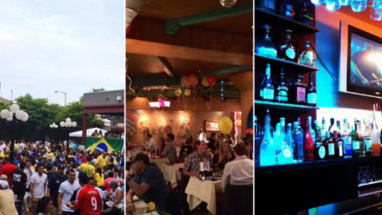 Restaurantes para ver la Copa Oro en NY