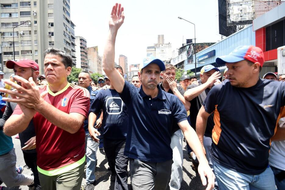 Venezuela arde entre protestas GettyImages-666192980.jpg