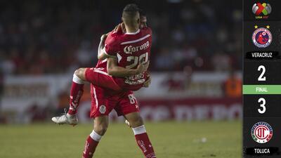 Un inspirado Sambueza lideró al Toluca para llevarse la victoria sobre el final