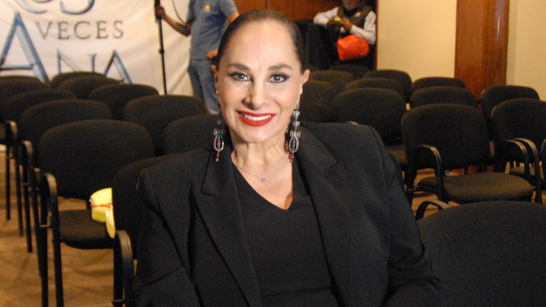 """Susana Dosamantes cree que Angelique Boyer se va a consagrar con """"Tres V..."""