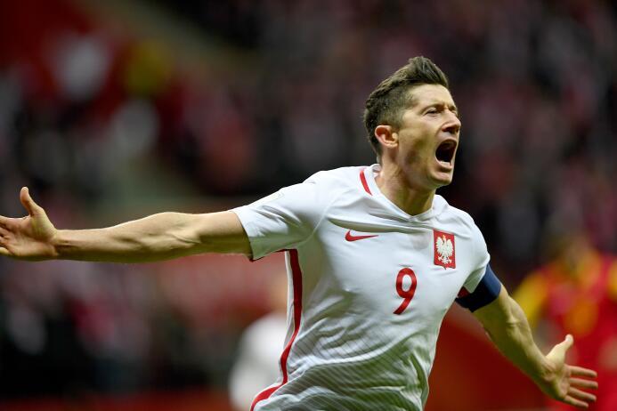 La fiesta de Polonia al convertirse en el clasificado 15 al Mundial de R...