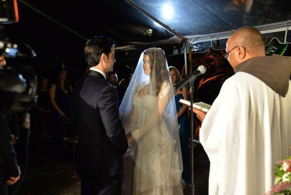 Finalmente, Vanessa de Roide y Jorge Menéndez son marido y mujer.