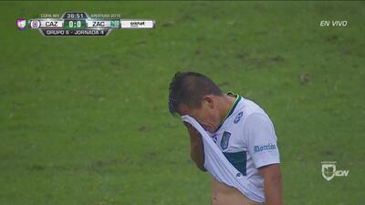 Ángel Gaspar deja con 10 a Zacatepec en el Azteca