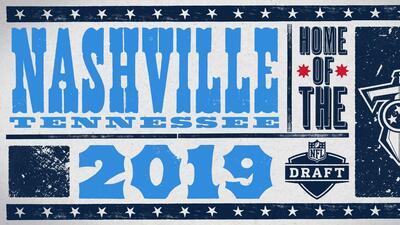 Confirmado: Nashville será la sede del NFL Draft 2019