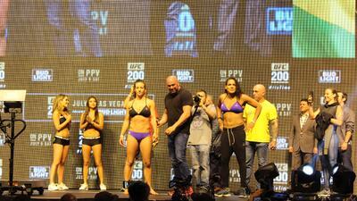 Todo listo para el UFC 200