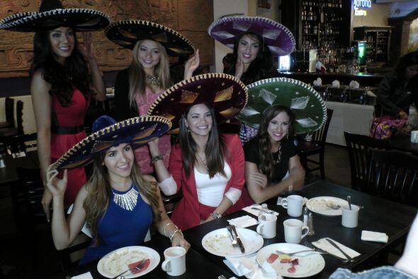 Las chicas de Nuestra Belleza Latina dijeron presente.