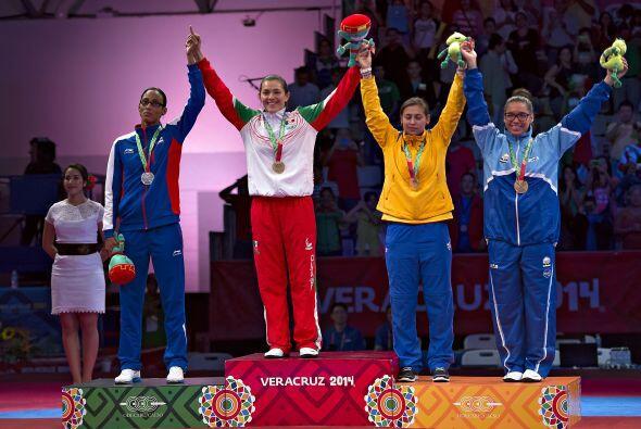 Inconforme, la cubana y Campeona del Mundo en la División de -73 kg, Gle...