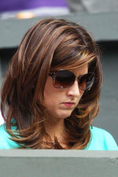El contraste: Mirka, esposa de Roger Federer, quien fue eliminado sorpre...