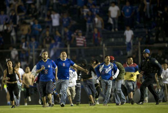 En Noviembre de 2013 se enfrentaron Cruz Azul y Toluca en cuartos de Fin...