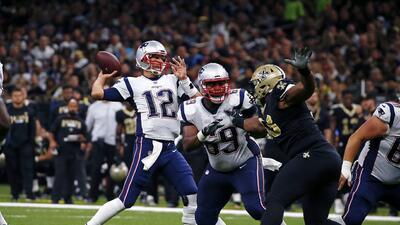 Tom Brady vs. Saints