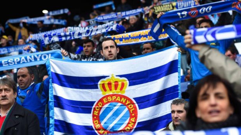 Los espanyolistas que viajaron a La Coruña no pudieron festejar el triun...