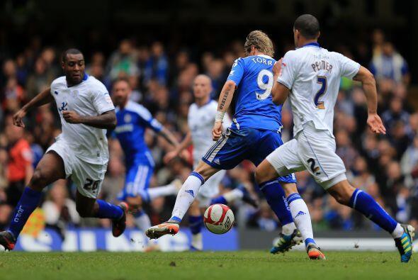 Pero en este juego se vería el resurgir del gran fichaje que Chelsea sig...