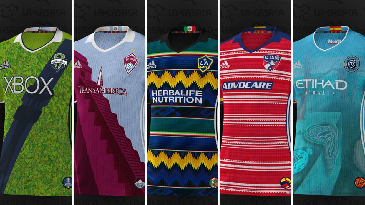 Camisetas hispanas de la MLS 2016