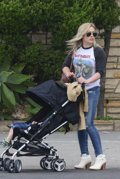 ¡Hilary Duff demostró que para la moda 'rock star' no existen barreras!...