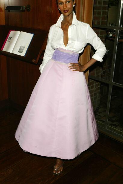 Imán es la primera top model de color en la historia de la moda