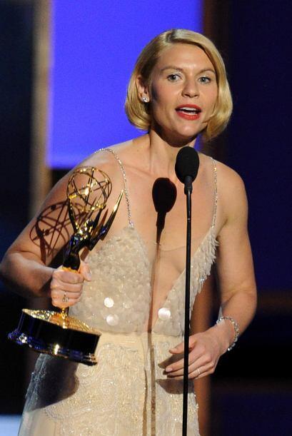 Claire Danes repitió por segundo año consecutivo como Mejor actriz en dr...