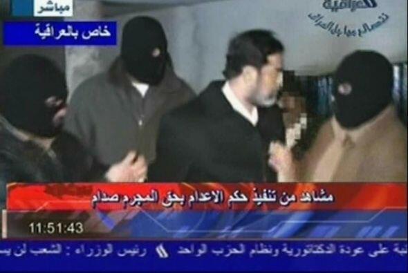 Ahora se sabe que el ex presidente de Irak pidió ayuda a un guardia para...
