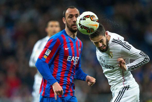 Para la segunda parte Real Madrid siguió dominando el encuentro, aunque...