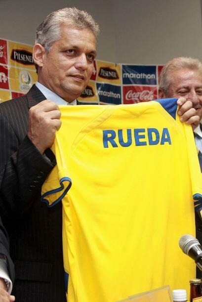 Reinaldo Rueda llevó a Honduras al Mundial y de vuelta los ecuatorianos...
