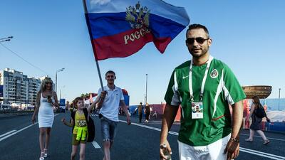 Viviendo el Mundial: así se hospeda en Rusia un grupo de mexicanos